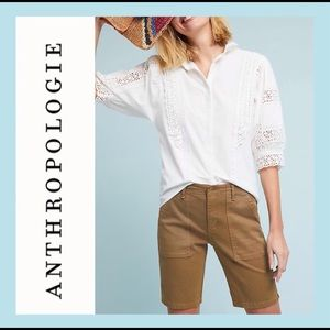 ANTHROPOLOGIE Jefferson Bermuda Shorts